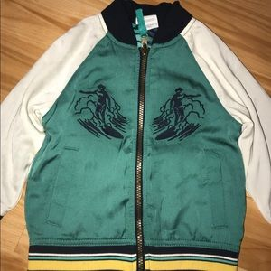Target Jackets & Coats - Genuine Kids Hawaii Summer Varsity Jacket size 2T